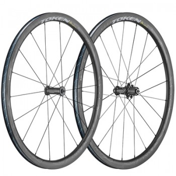 Token Ventous Carbon Clincher Road Wheelset
